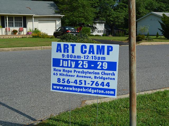Art Camp Photos Day 1