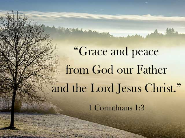 A Good Word for Today: Grace