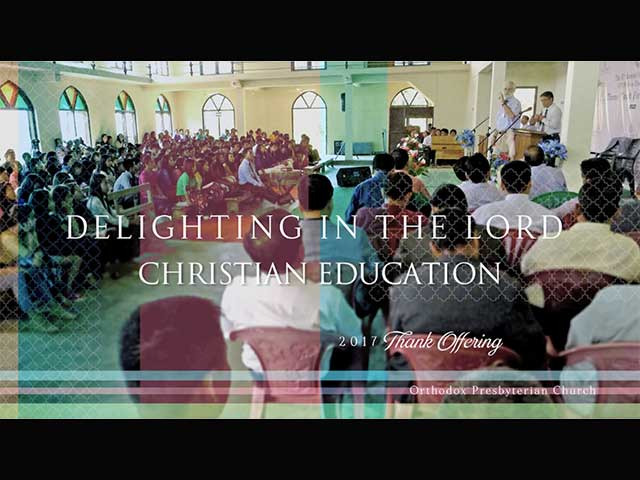 Thank Offering 2017 Christian Education