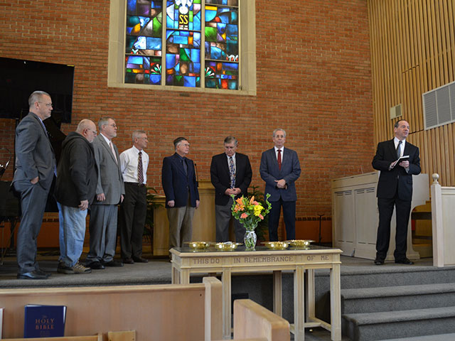 Nominate someone for the office of deacon or elder