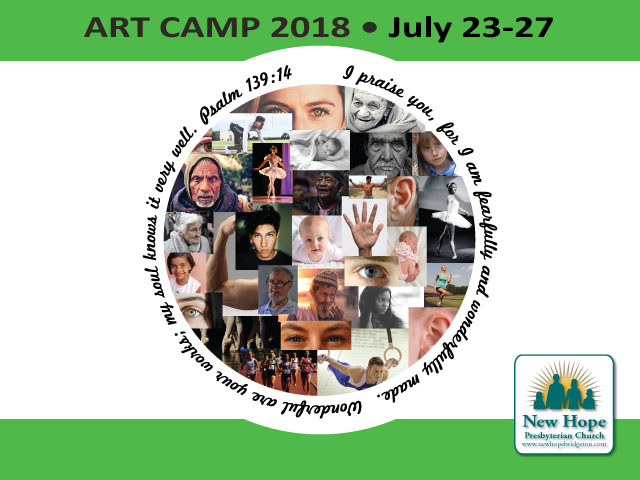 Art Camp 2018 Coming Soon