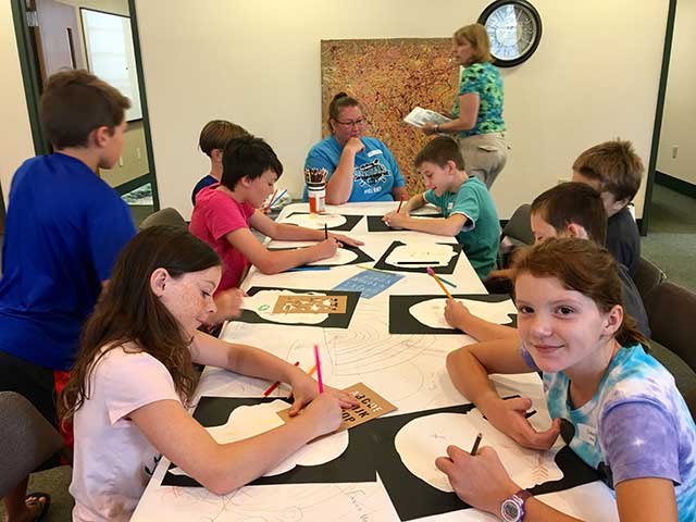 Art Camp Day 5 Update and Photos