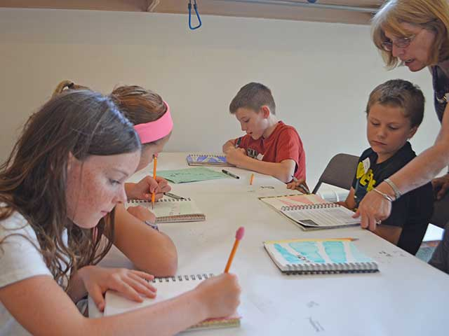 Art Camp Day 2 Update and Photos