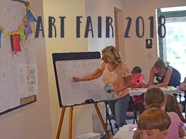 Art Camp Art Fair