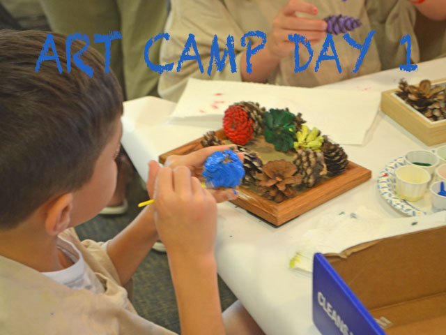 Art Camp Update Day 1 (2019)