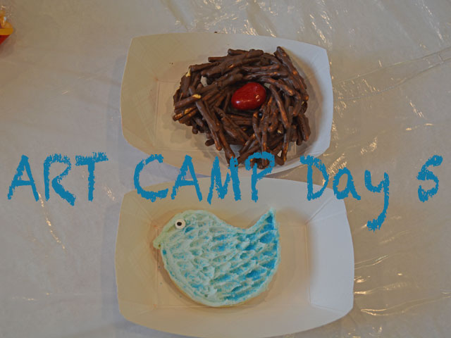 Art Camp Update Day 5 (2019)