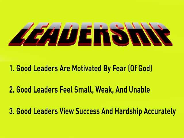 Three Leadership Principles For Everyone