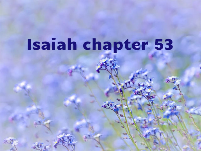 Isaiah chapter 53