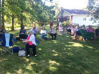 Outdoor Worship!