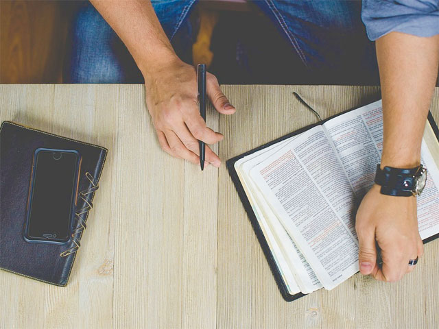 Are you reading your Bible?