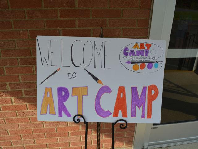 Art Camp 2021 Update Day 1
