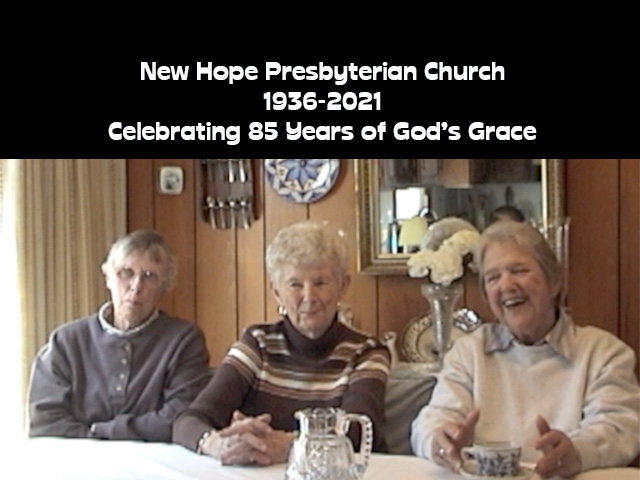 85th Anniversary Sunday